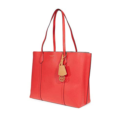 Tory Burch Perry Ladies Medium Red Leather Shoulder Bag 53245-612