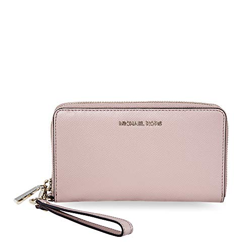 Michael Kors Large Flat Phone Wristlet in Fawn
