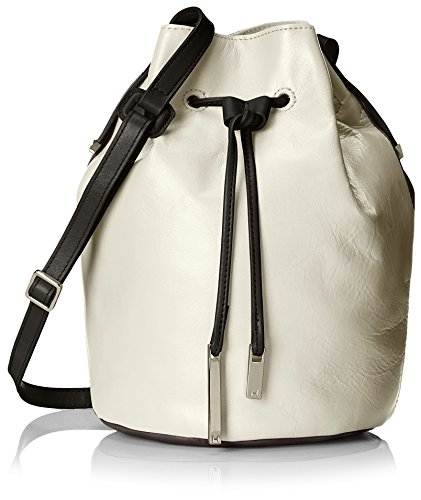 Halston Heritage Women's Bucket Bag, Bone Multi