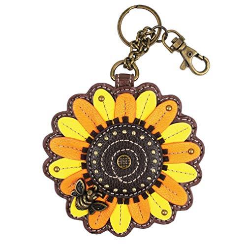 Chala Sunflower Key Fob/Coin Purse, Chala Keychain