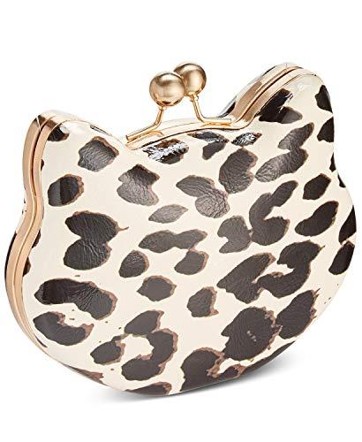 Betsey Johnson Here Kitty Kitty Leopard Clutch