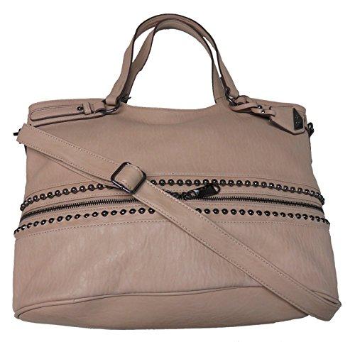 Jessica Simpson Women's Large Ravenna Handbag, Tawny/Tan