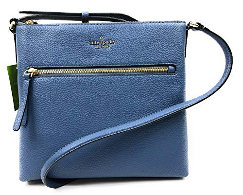 Kate Spade New York Jackson Pebbled Leather Shoulder/Top Zip Crossbody Bag Consellblu
