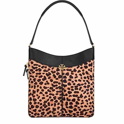 Tory Burch Ivy Hobo Bag, Leopard/Black