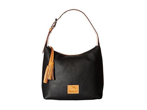 Dooney & Bourke Paige Sac Leather Hobo (Black)