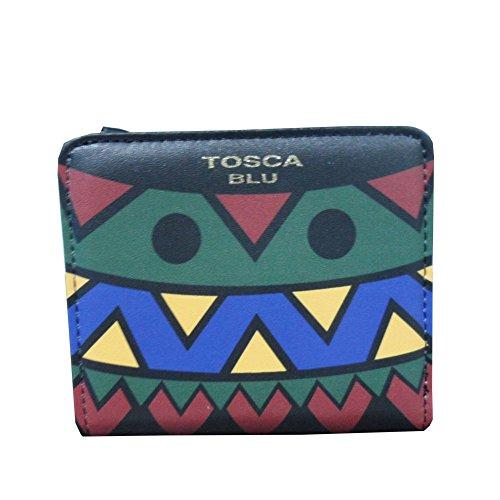 Portafoglio Donna Cerniera e Patta | Tosca Blu Funny Winter | TF1731P3257AA17A-Multicolor