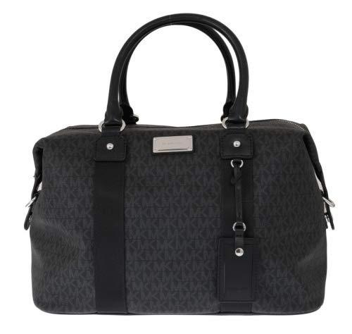 Michael Kors LG large travel bag weekender purse MK black carry-on