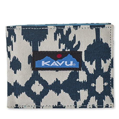 KAVU Yukon Wallet, Blue Blot, One Size