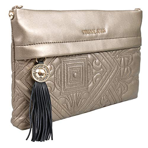 Versace EE1VSBBZ5 E901 Gold Clutch for Womens