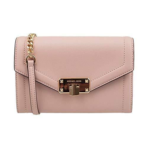 Michael Kors Kinsley Medium Wallet Chain Bag Crossbody Blossom