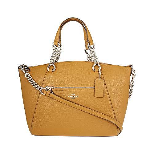 Coach Prairie Ladies Medium Leather Satchel Handbag 59501