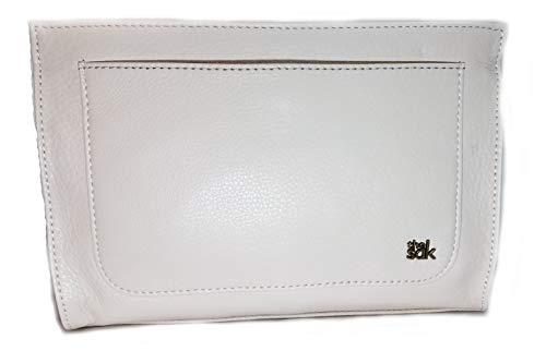 Sak Ivy Stone Demi Clutch Leather Crossbody Bag