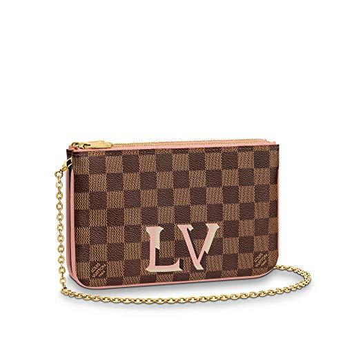 Louis Vuitton Pochette Double Zip Crossbody Bags Purse Handbags