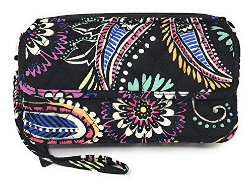 Vera Bradley All In One Crossbody for iPhone 6/6+ Wristlet, African Violet