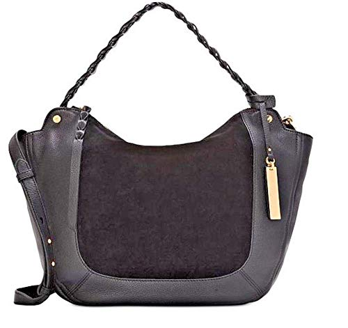 Vince Camuto Luela Shoulder Bag (Black, Small)