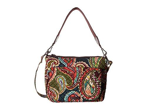 Vera Bradley Women's Carson Shoulder Bag Heirloom Paisley Handbag