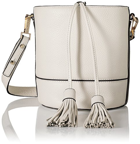 MILLY Astor Drawstring Bucket, White