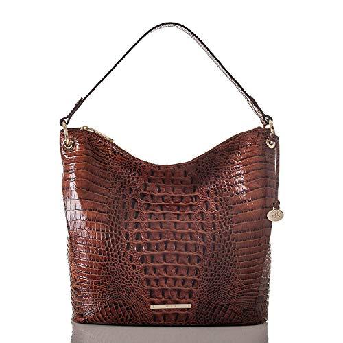 Brahmin Sevi Large Leather Shoulder Bag (Pecan Melbourne)