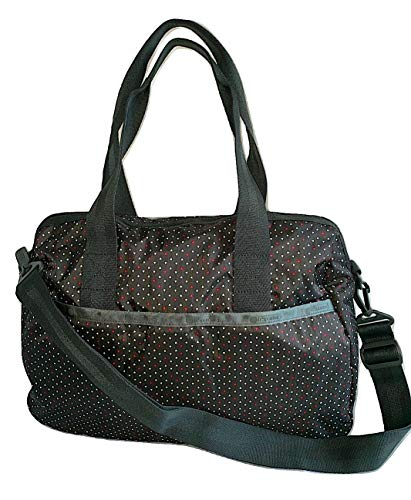 LeSportsac Poppy Seeds Harper Convertible Crossbody & Top Handle Tote Handbag/Carry-on, Style 3356/Color E130