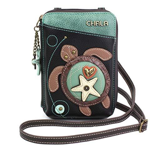 Chala Sea Turtle Wallet Crossbody Handbag – Convertable Strap