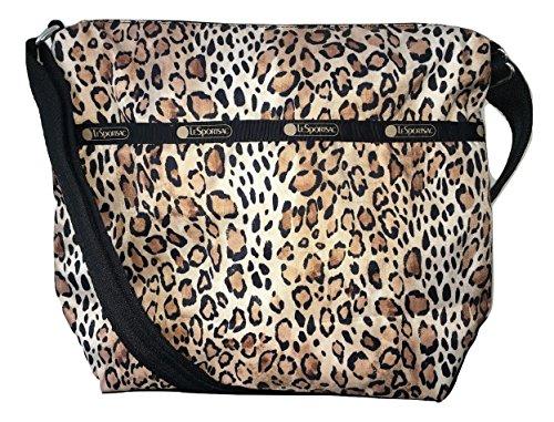 LeSportsac Ombre Cheetah Small Cleo Crossbody Bag