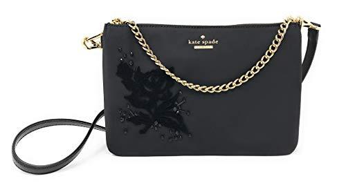 Kate Spade New York Madelyne Dawn Place Embellished Crossbody Bag in Black