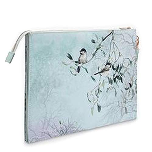 Ted Baker Mistletoe Kiss Envelope Pouch One Size Mint 37