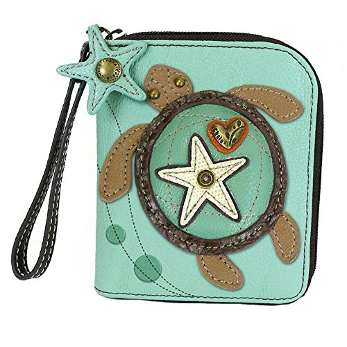 Chala Sea Turtle Zip-Around Wallet/Wristlet