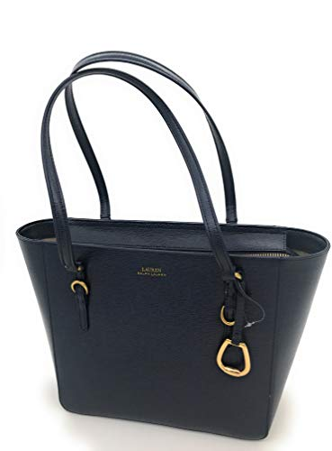 Ralph Lauren Bennington Medium Shopper Tote (Navy)