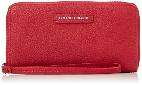 A|X Armani Exchange Women's Round Zip Wrislet, royal red – royal red 38
