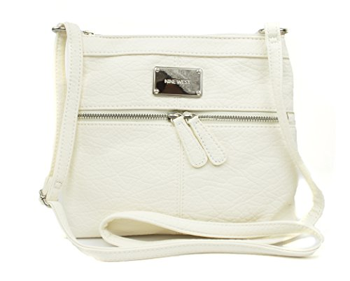 Nine West Encino Small Crossbody, Color New Ivory