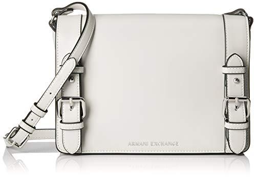 A|X Armani Exchange Medium Bag, Bianco-White 5