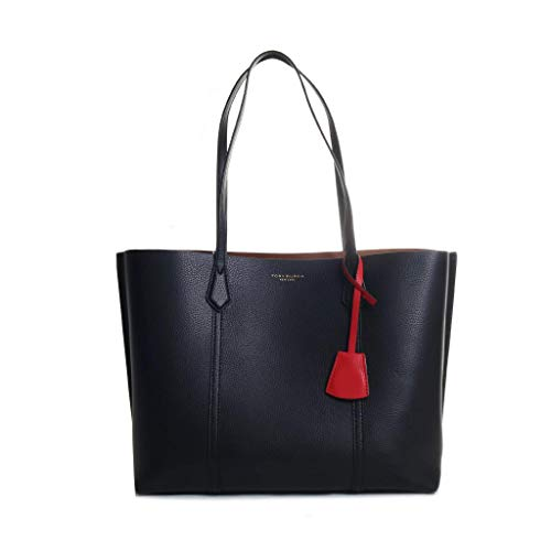 Tory Burch Perry Triple Compartment Tote in Black