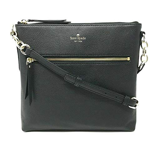 Kate Spade Larchmont Avenue Pebble Leather Crossbody Bag Black