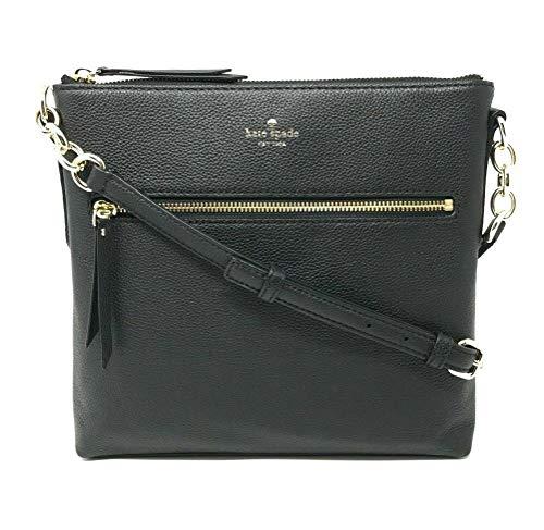Kate Spade Larchmont Avenue Pebble Leather Crossbody Bag Black
