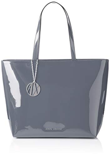 A|X Armani Exchange Zip Top Shoulder Bag, grigio – grey 83