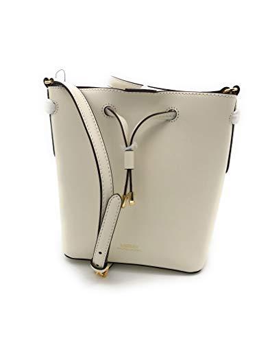 Ralph Lauren Dryden Small Bucket Shoulder Bag (Vanilla)