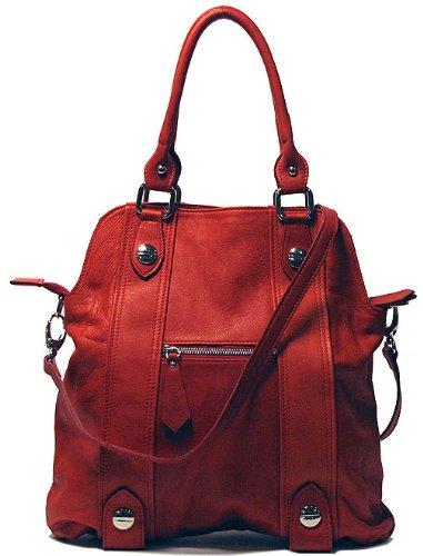 Floto Luggage Bolotana Handbag, Toscana Red, Medium