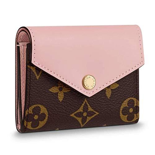 Louis Vuitton Monogram Canvas Zoe Mini Wallets Rose Ballerine Article: M62933