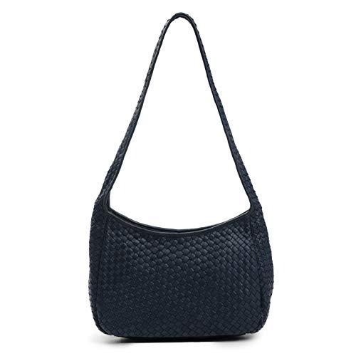 Robert Zur Women's 'Delia' Woven Top Zip Handbag