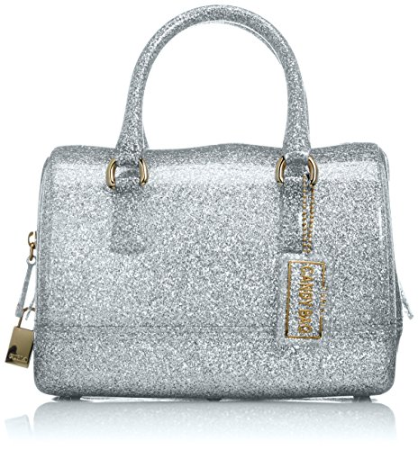 Furla Women's Candy Cookie Small Satchel Silver One Size