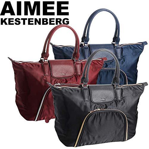 AIMEE KESTENBERG Black Florence Travel Tote Handbag T0009