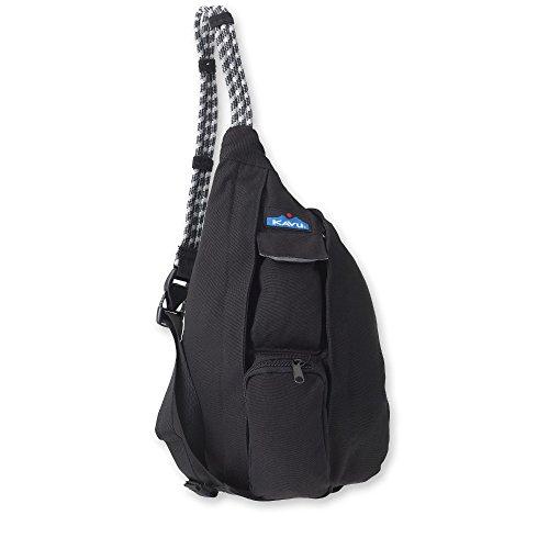 KAVU Women's Mini Rope Bag, Black, One Size