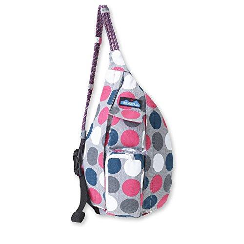 KAVU Mini Rope Bag, Got Dots, One Size