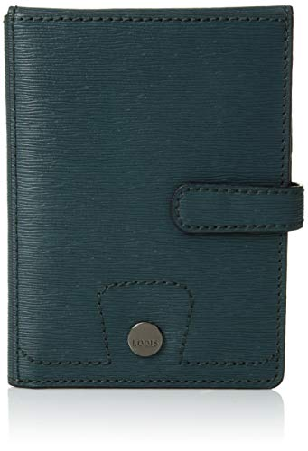 Lodis Accessories Women's Belair Passport Wallet with Ticket Flap Hunter One Size