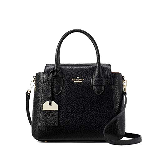 Kate Spade Carter Kylie Black Leather Small Satchel Women's Handbag