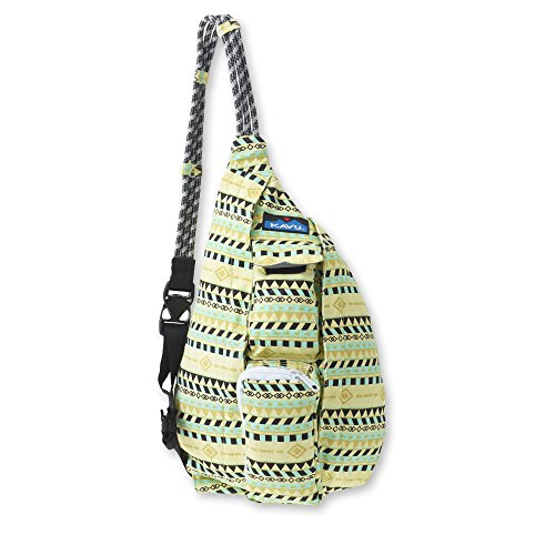 KAVU Mini Rope Bag, Gold Belt, One Size