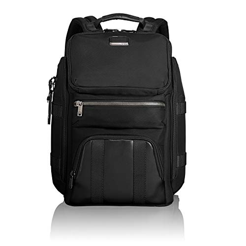TUMI – Alpha Bravo Tyndall Utility Laptop Backpack – 15 Inch Computer Bag for Men and Women – Black