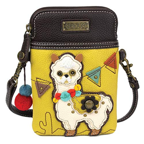 Chala Handbags Llama Cellphone Crossbody Handbag – Llama Collector