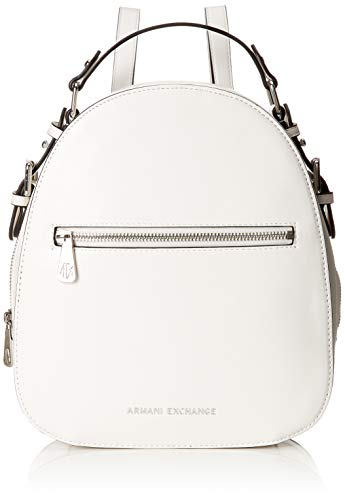A|X Armani Exchange Top Handle Backpack, Bianco-White 84